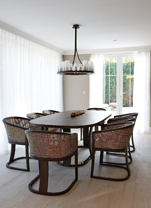 Dining room by Keir Townsend Ltd.