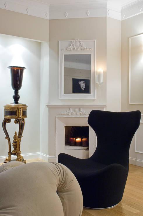 غرفة المعيشة تنفيذ Arch Nouveau Studio