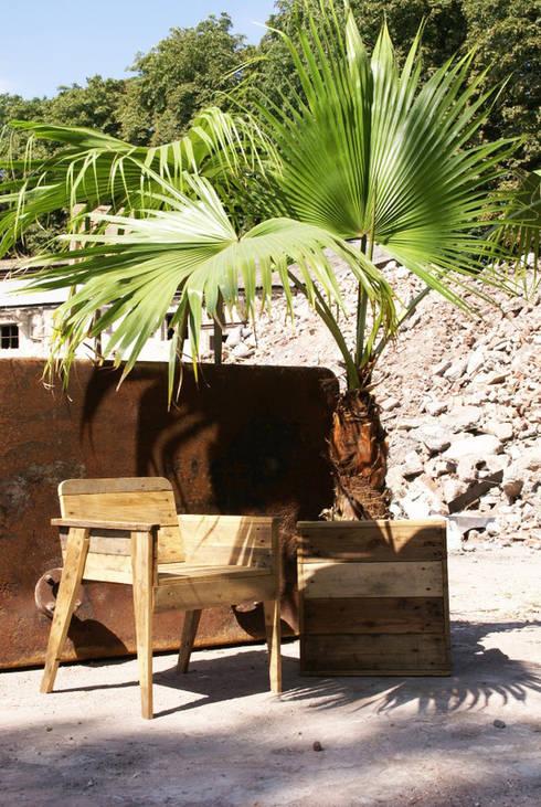 Fauteuil Paolette : Jardin de style de style eclectique par Nature Végétale