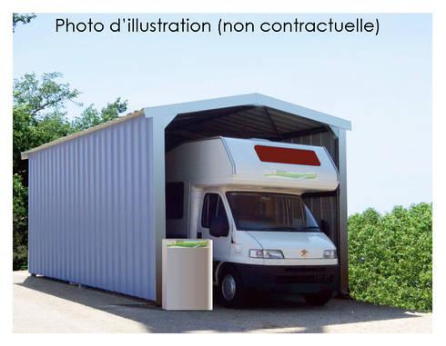 abri camping car en kit par direct batiment homify. Black Bedroom Furniture Sets. Home Design Ideas