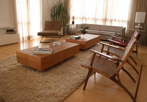 VS: Salas de estar modernas por Luciana Tomas Arquitetura