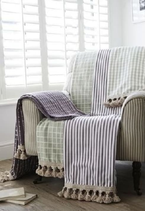 Prestigious Textiles - Marina Fabric Collection: rustic Living room by Curtains Made Simple