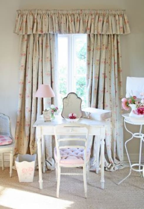 Kate Forman Fabric Collection: classic Bedroom by Curtains Made Simple