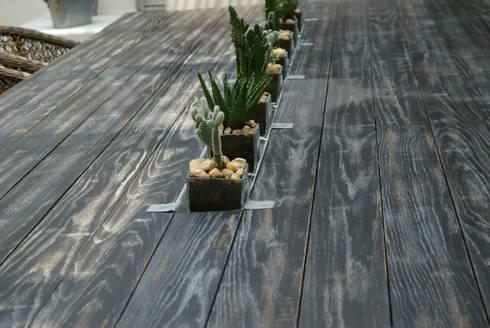 Terraza: Jardín de estilo  por Jacobs Interiorismo