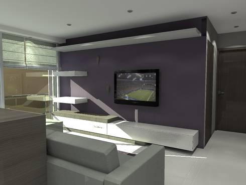 BRT1202: Estudios y oficinas de estilo moderno por Arq. Jacobo Smeke