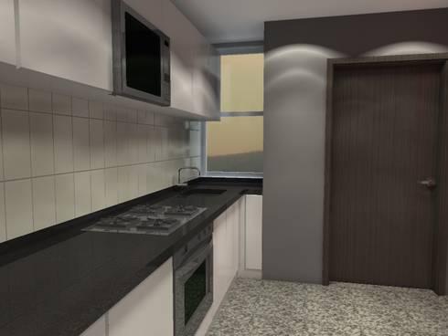 BRT1202: Cocinas de estilo moderno por Arq. Jacobo Smeke