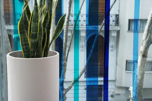 Un Balcón de Agua: Terrazas de estilo  por Estudio Nicolas Pierry: Diseño en Arquitectura de Paisajes & Jardines