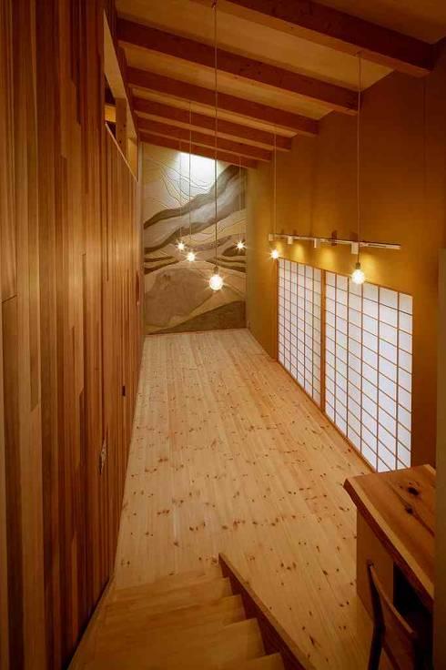 アトリエ: 後藤建築設計が手掛けた書斎です。