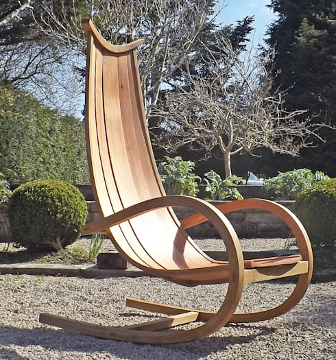 Ranch Rocking Chair:  Garden  by carlaustinfurniture