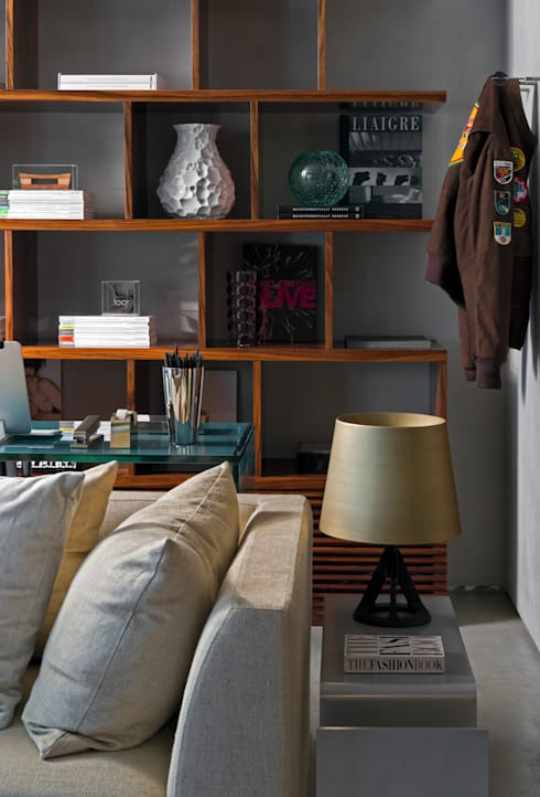 Salas / recibidores de estilo  por DIEGO REVOLLO ARQUITETURA S/S LTDA.