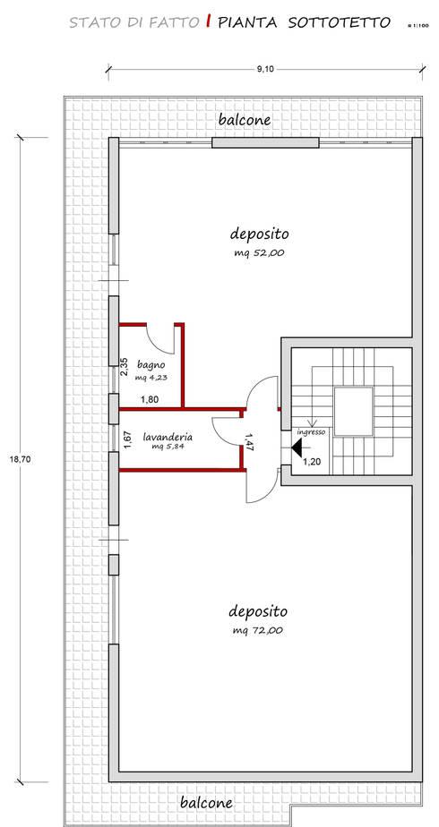ห้องนั่งเล่น by francesca ravidà    architetto | interior designer