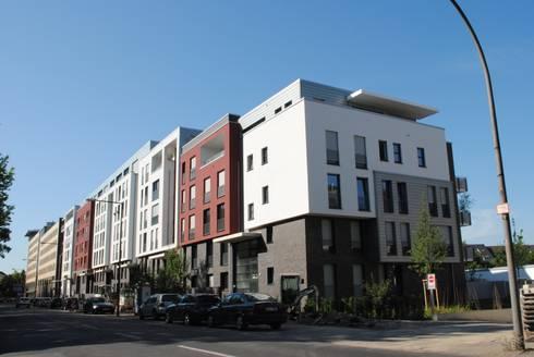 wohnbebauung lindenpark oskar j ger stra e k ln lindenthal von gritzmann architekten homify. Black Bedroom Furniture Sets. Home Design Ideas