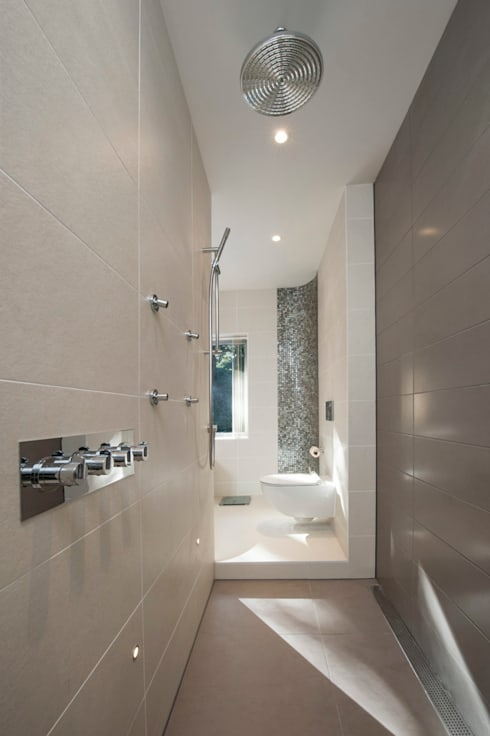 Bingham Avenue, Evening Hill, Poole:  Bathroom by David James Architects & Partners Ltd