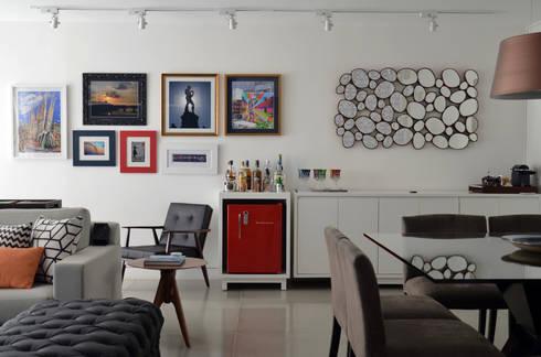 : Jardins 01: Sala de jantar  por Mmaverick Arquitetura