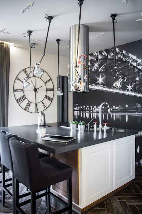 Квартира для молодоженов: Кухни в . Автор – ToTaste.studio