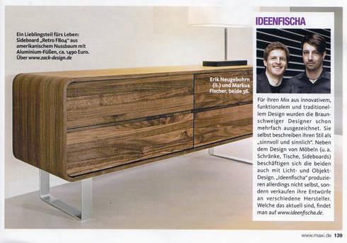 Massivholzbetten design  ideenfischa Produktdesign: Massivholzmöbel / Kollektionen für ZACK ...