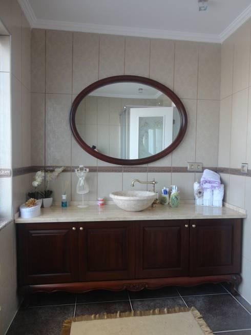 Vizyon mimarlık ve Dekorasyon – N.A.A EVİ / Uzunköprü - EDİRNE: klasik tarz tarz Banyo