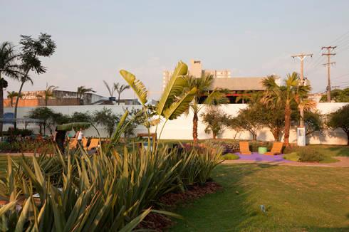 Refúgio Zen - Espaço Lilás: Jardins modernos por Adines Ferreira Paisagismo