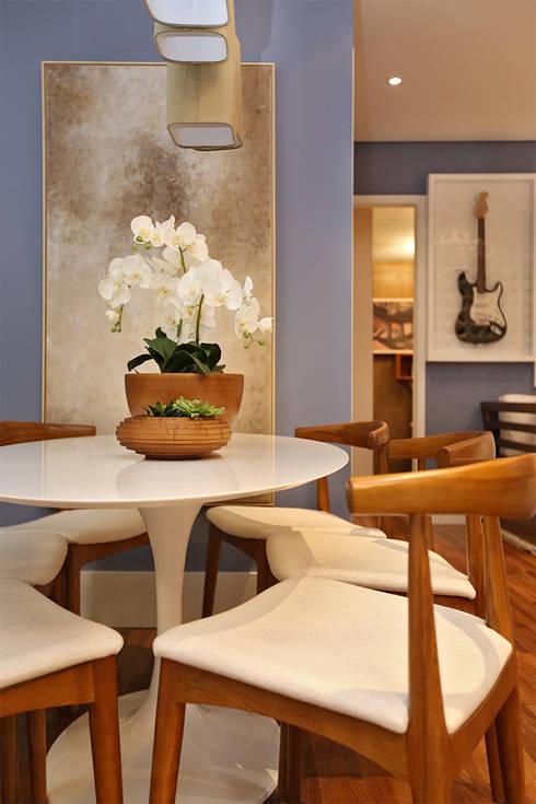 Brooklin | Decorados: Salas de jantar modernas por SESSO & DALANEZI