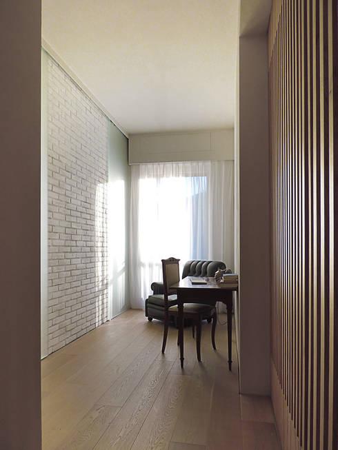 © Diego Collini Federica Stagni : Studio in stile in stile Minimalista di diegocolliniarchitetto
