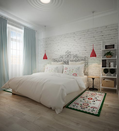 Biriukova Ievgeniia:  tarz Yatak Odası