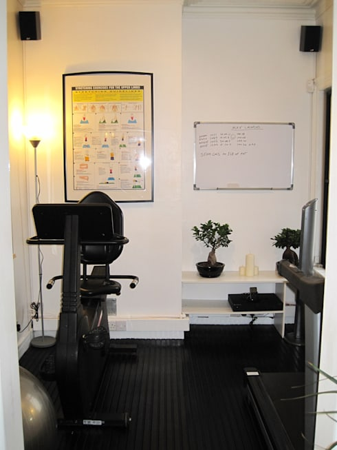 Projekty,  Siłownia zaprojektowane przez Pioneer Personal Training & Bespoke Gym Design