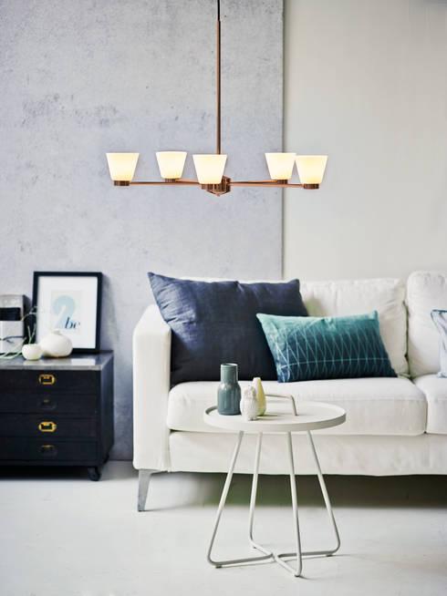 Tac 5 Chandelier:  Living room by Herstal A/S
