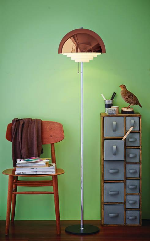 Dormitorios de estilo  por Herstal A/S