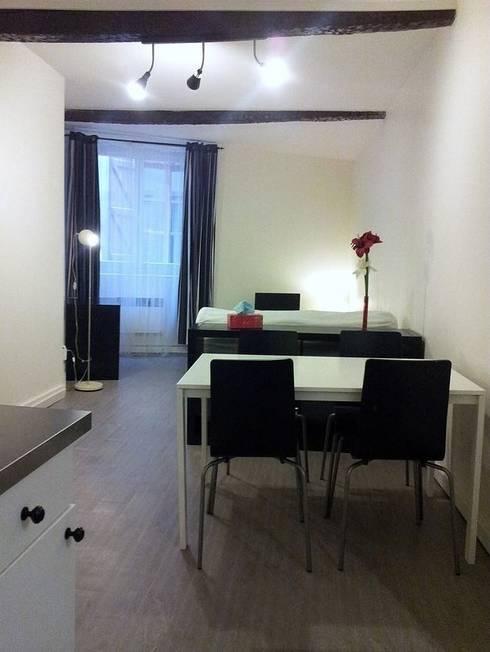 Appartement après travaux - Vue 1:  de style  par Aparté conseils