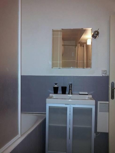 Salle de bain Après Travaux - Vue 13:  de style  par Aparté conseils