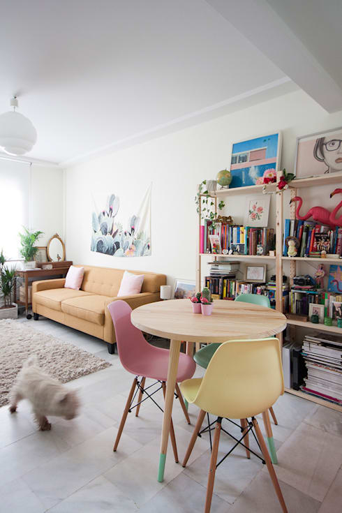 Living room by www.rocio-olmo.com