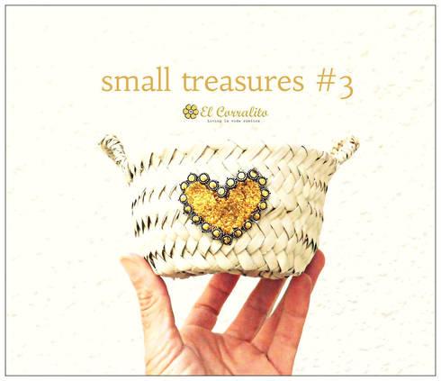 SMALL TREASURES GOLD: Hogar de estilo  de El Corralito de TARIFA RAK