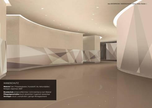 Dekorativer Wandschutz Und Rammschutz
