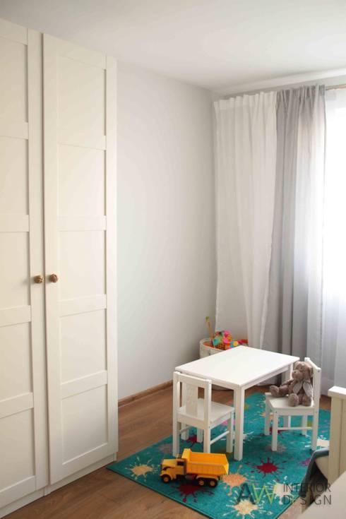 APARTAMENT W KRAKOWIE: styl , w kategorii Pokój dziecięcy zaprojektowany przez AW INTERIOR DESIGN