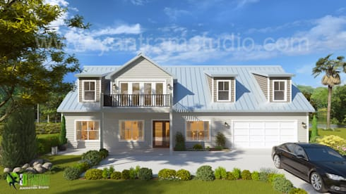3D Architectural Exterior Rendering CGI Design by Architectural ...