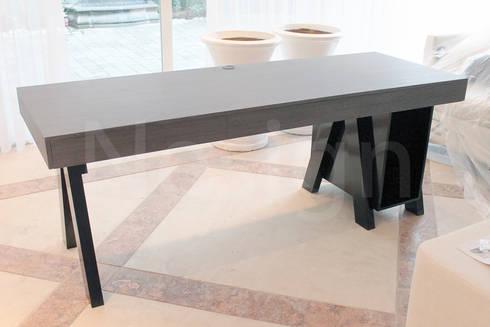 Muebles casa habitacion: Estudio de estilo  por Nesign - Diseño y fabricación de muebles.