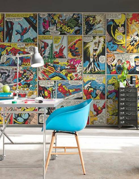 Marvel Super Heroes Murals:  Walls & flooring by Paper Moon