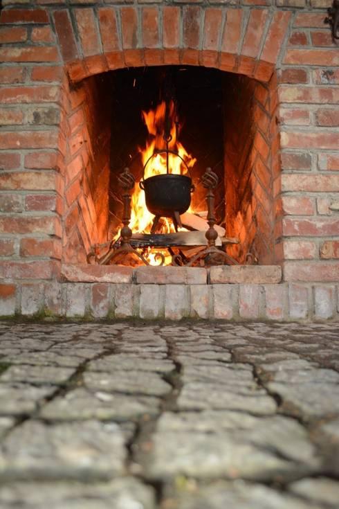 Terrasse von Kuchnia w Ogrodzie