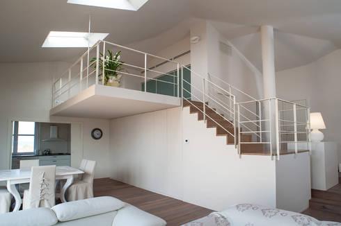 Realizzazione soppalco, scale e balaustre in villa nei castelli di ...