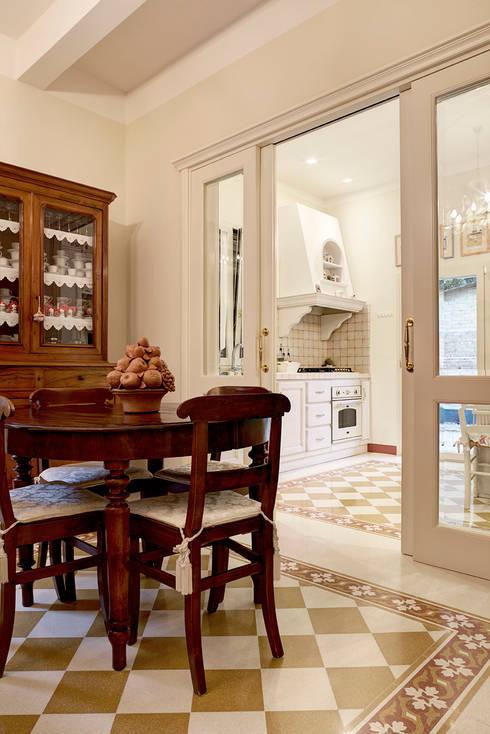 Dining room by Astudioarchitetti