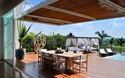 Deck: Terraços  por Maurício Queiróz