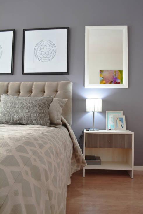 Dormitorios de estilo  por Nicolas Pierry: Diseño y Decoración de Interiores