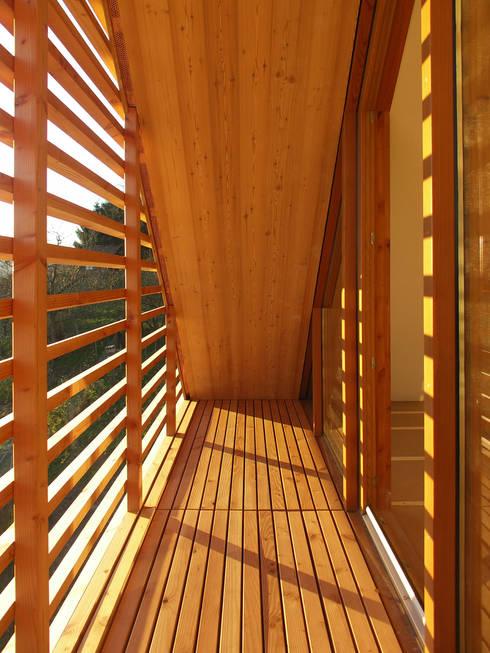 Wohnhaus in Gengenbach:  Terrasse von lehmann_holz_bauten
