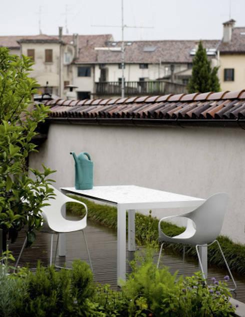 Balconies, verandas & terraces  by Urbansuitehome