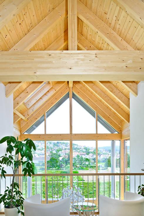 Achtergarde + Welzel Architektur + Interior Design의  실내 정원