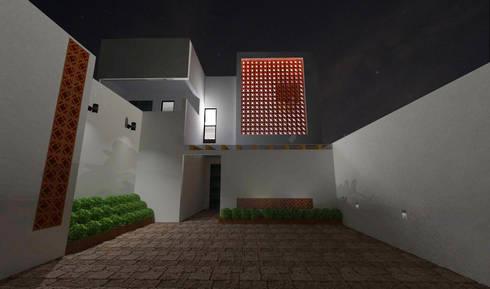DEPTOS TERRA: Casas de estilo moderno por WIGO SC