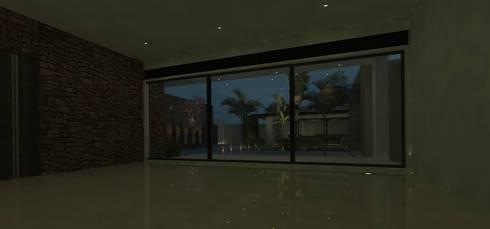 casa # 495: Comedores de estilo moderno por Taller R arquitectura