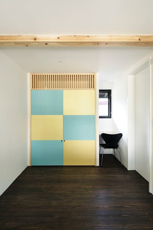 modern Bedroom by 山田伸彦建築設計事務所