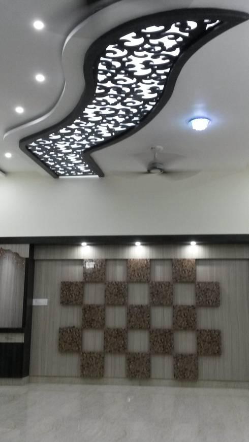 LALIT KUMAR FULWANI: modern Living room by MAA ARCHITECTS & INTERIOR DESIGNERS