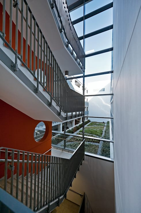 parkhaus alter steinweg m nster von lindschulte ingenieure architekten homify. Black Bedroom Furniture Sets. Home Design Ideas